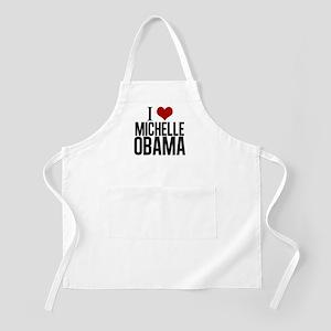 I Love Michelle Obama Apron