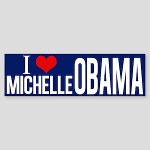I Love Michelle Obama Sticker (Bumper)