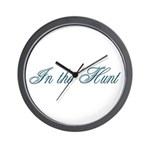 In the Hunt Wall Clock