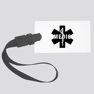 Medic EMS Star of L... Large Luggage Tag