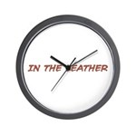 In the Leather Wall Clock