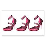 RubySlipperCoffeeMug Sticker (Rectangle 50 pk)
