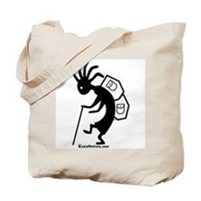 Kokopelli Backpacker Tote Bag