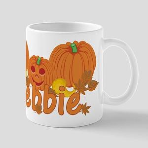 Halloween Pumpkin Debbie Mug