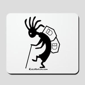 Kokopelli Backpacker Mousepad