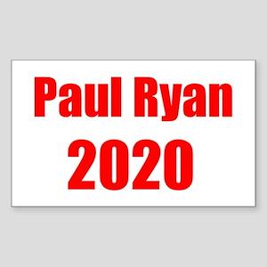 Paul Ryan 2020 Sticker (Rectangle)