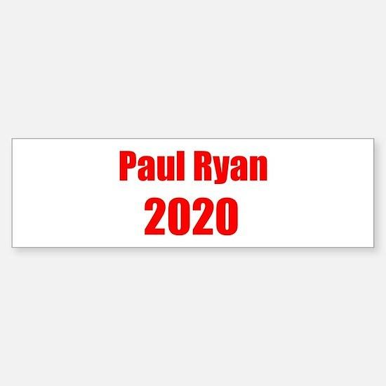Paul Ryan 2020 Sticker (Bumper)
