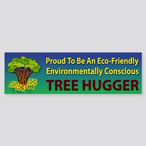 Tree Hugger ~ Sticker (Bumper)