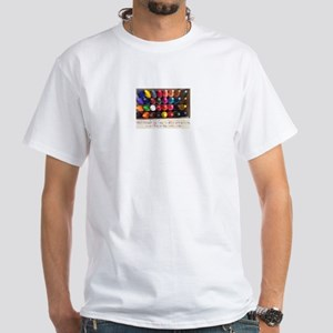 All Colors White T-Shirt