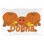 Halloween Pumpkin Donna Pillow Case