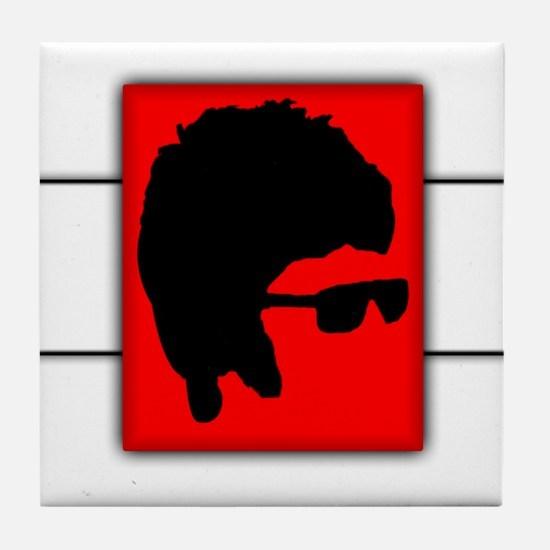 Rock Band Legend Tile Coaster