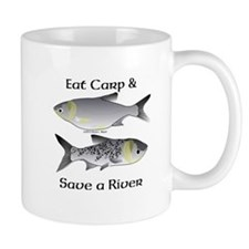 Asian Carp Bighead Silver Eat and Save Mug