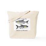 Asian Carp Bighead Silver Eat and Save Tote Bag
