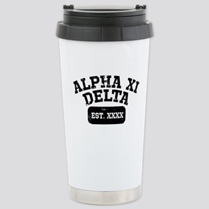 Alpha Xi Delta At 16 oz Stainless Steel Travel Mug