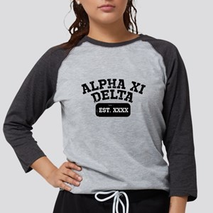 Alpha Xi Delta Athletic Person Womens Baseball Tee