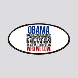 Obama Equality Patches