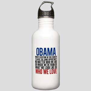 Obama Equality Stainless Water Bottle 1.0L