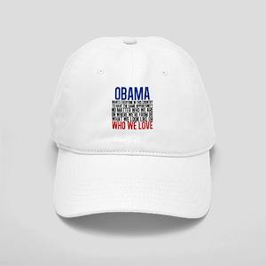Obama Equality Cap