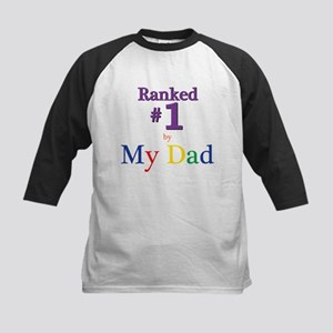 Ranked #1 by My Dad (SEO) Kids Baseball Jersey