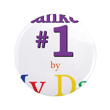 """Ranked #1 by My Dad (SEO) 3.5"""" Button"""