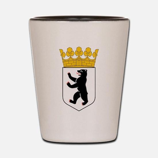 Berlin Wappen Shot Glass