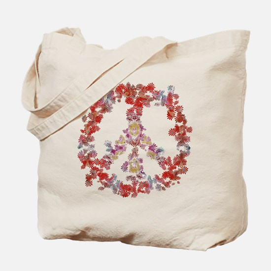Attraction Flower Peace - Simple Tote Bag