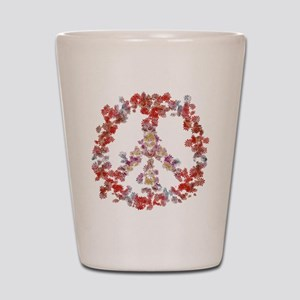Attraction Flower Peace - Simple Shot Glass