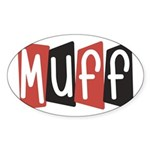 Muff Sticker (Oval)