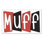 Muff Sticker (Rectangle)