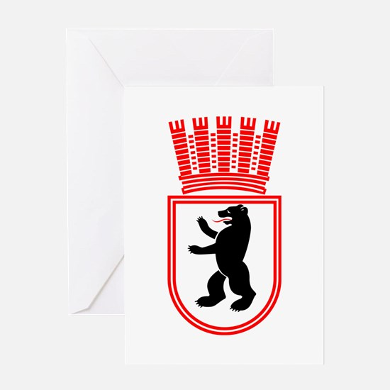Berlin Wappen 1935 Ostberlin Greeting Card
