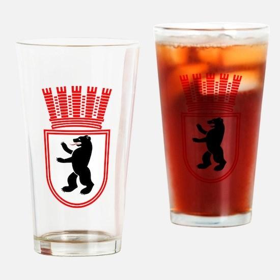 Berlin Wappen 1935 Ostberlin Drinking Glass