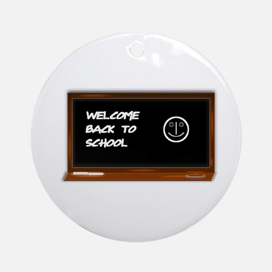 Welcome to school Ornament (Round)