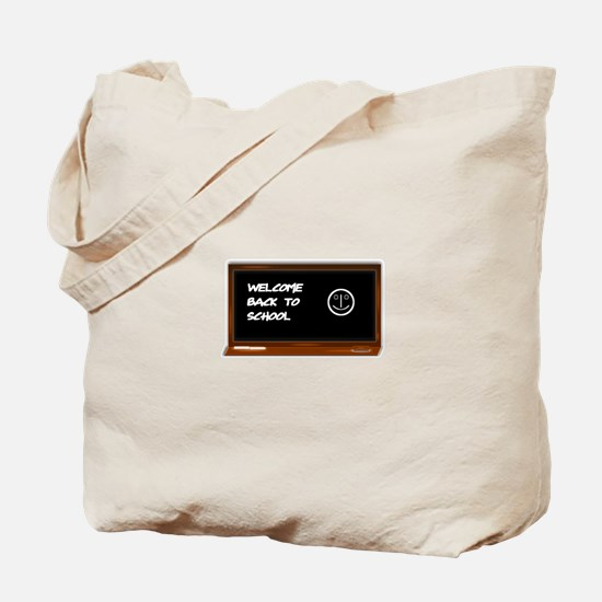 Welcome to school Tote Bag