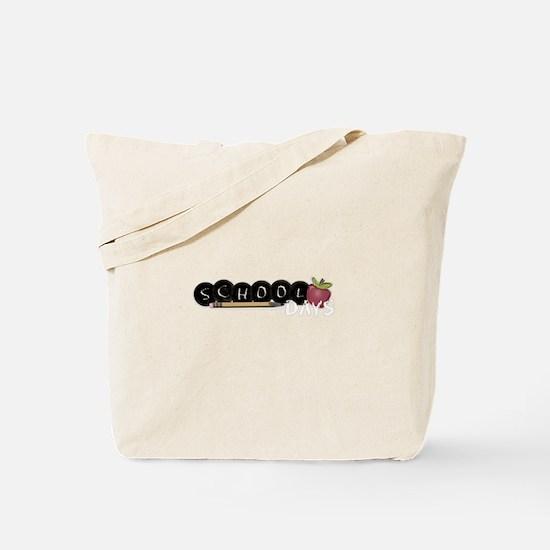 School apple Tote Bag