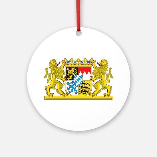 Landeswappen Bayern Ornament (Round)
