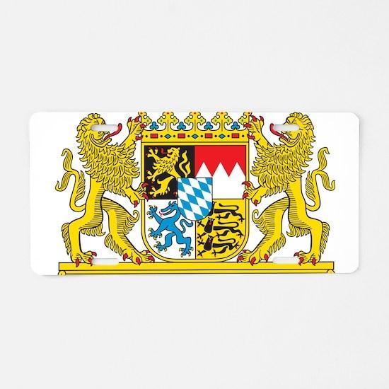 Landeswappen Bayern Aluminum License Plate