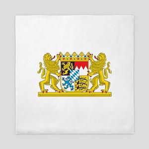Landeswappen Bayern Queen Duvet