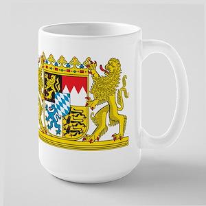 Landeswappen Bayern Large Mug