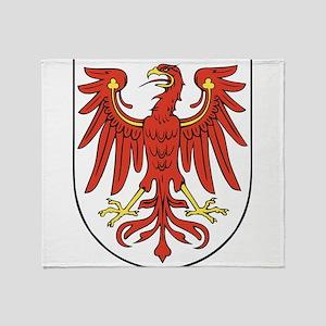 Brandenburg Wappen Throw Blanket