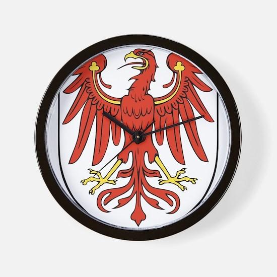 Brandenburg Wappen Wall Clock