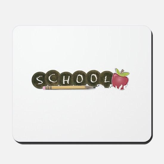School pencils Mousepad