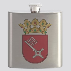 Bremen Wappen Flask