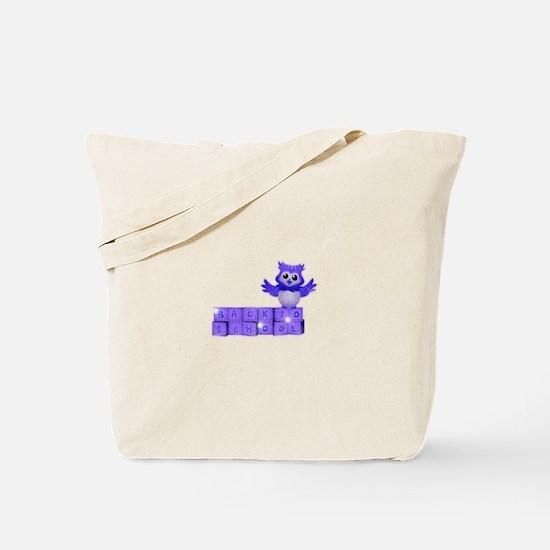 School owl Tote Bag