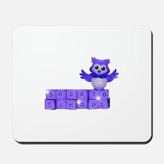 School owl Mousepad