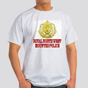 North West Mounted Police Ash Grey T-Shirt