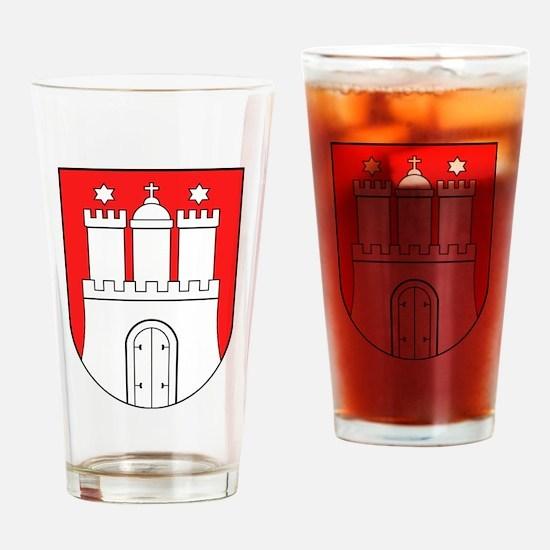 Hamburg Wappen Drinking Glass