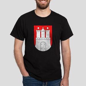 Hamburg Wappen Dark T-Shirt