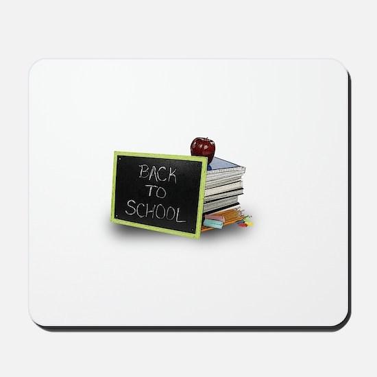 Back to school apple Mousepad