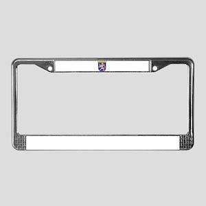 Hessen Wappen License Plate Frame