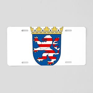 Hessen Wappen Aluminum License Plate